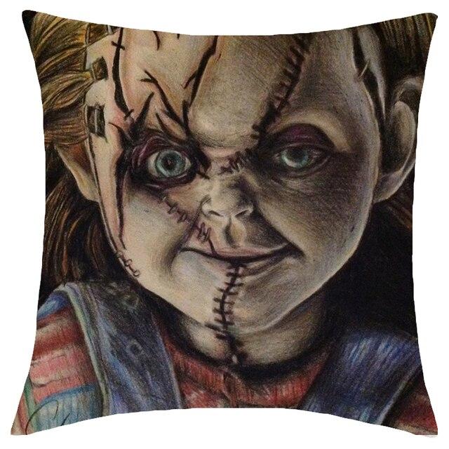 Halloween Decorative Cushion Cover 45x45cm