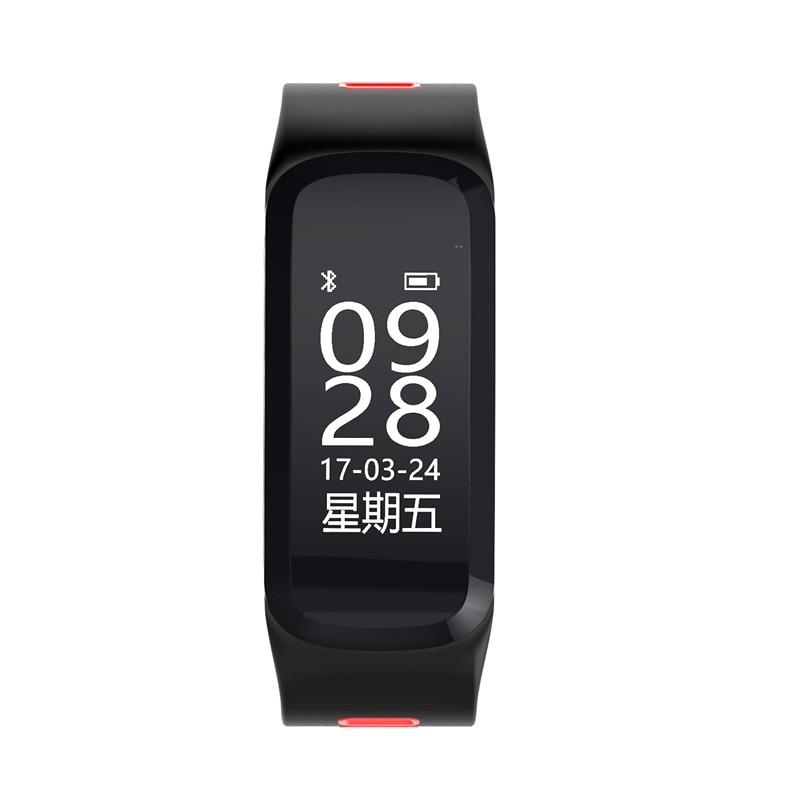 696 F4 Smart Armbanduhr Blutdruck Herzfrequenz Sport Fitness Tracker