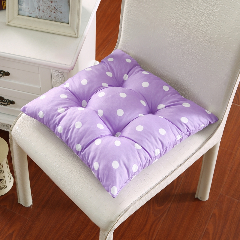 4040cm solid color decorative pillows with white dots cushion throw pillows