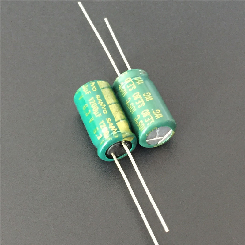 10pcs 1800uf 6.3v Rubycon Radial Electrolytic Capacitors Low ESR 6.3v1800uf