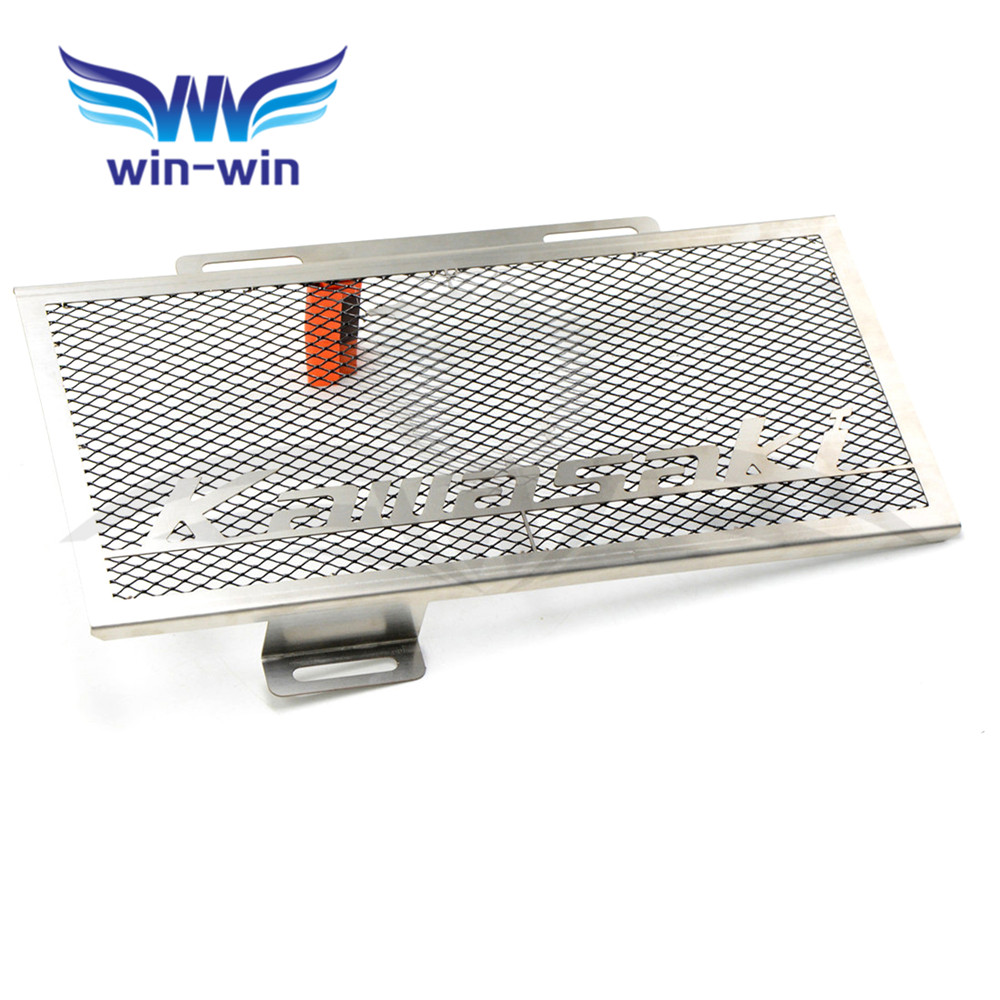 new high quality Motorcycle Stainless Steel Radiator Guard Protector Grille Grill Cover For Kawasaki ER6F ER6N 2012-1016 gotcha gotcha go021emjrq38