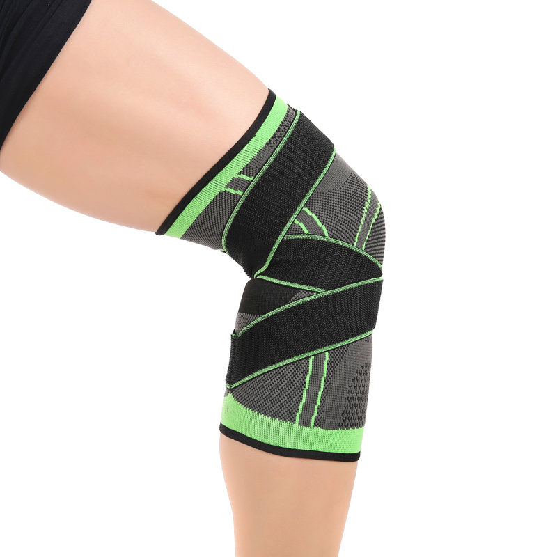 CALOFE Professional Protective Sports Knee Pad Breathable Bandage Knee Brace Basketball Tennis Cycling 2018 Knee Supports