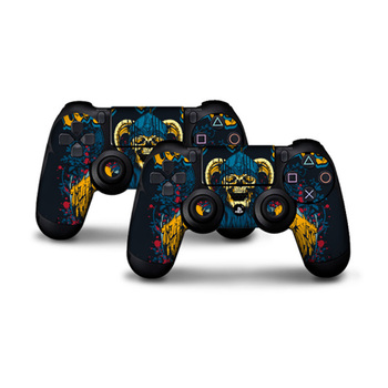 2 pcs Play station 4 Controller Protector Cover Skin Stickers for PS4 sony playstation 4 Controllers ps4 skin 2 Controller Skin