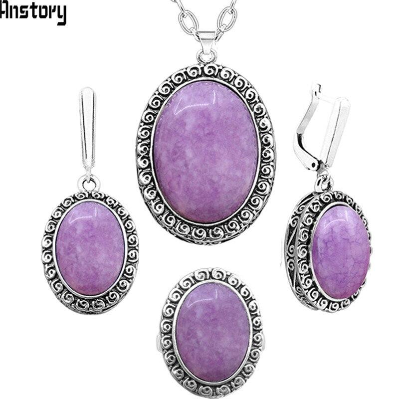 Natural Violet Amethysts...