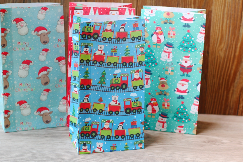 Aliexpress.com : Buy Merry Christmas Paper Bag,Gift Bags Snacks ...