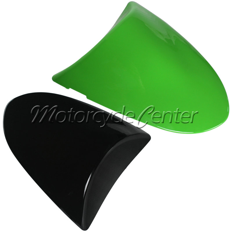 Hot Sale ABS Plastic Motorcycle Rear Seat Cover Cowl For Kawasaki ZX10R 10R 06-07 / ZX6R 636 ZX 6R 05-06 Green Black 05 06 07 hot sale hot sale car seat belts certificate of design patent seat belt for pregnant women care belly belt drive maternity saf