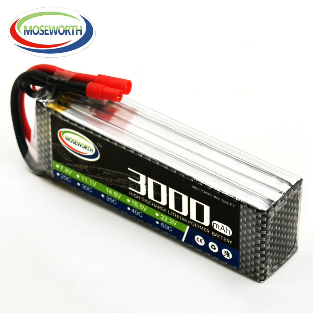 Battery Lipo 4S 14.8V 3000mAh 25C For Remote Control Toys RC Helicopter Drone Quadcopter Car Boat Airplane Aircraft Lipo Battery lynyoung battery lipo 4s 3000mah 14 8v 35c for rc bike drone boat plane car truck helicopter