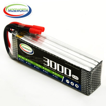 MOSEWORTH RC Lipo Battery 14.8v 4S 25C 3000mAh For RC Aircraft Car Drones Boat Quadcopter Helicopter Airplane Li-ion Battery 4S цены
