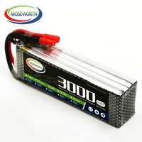 Battery Lipo 4S 14.8V 3000mAh 25C For Remote Control Toys RC Helicopter Drone Quadcopter Car Boat Airplane Aircraft Lipo Battery