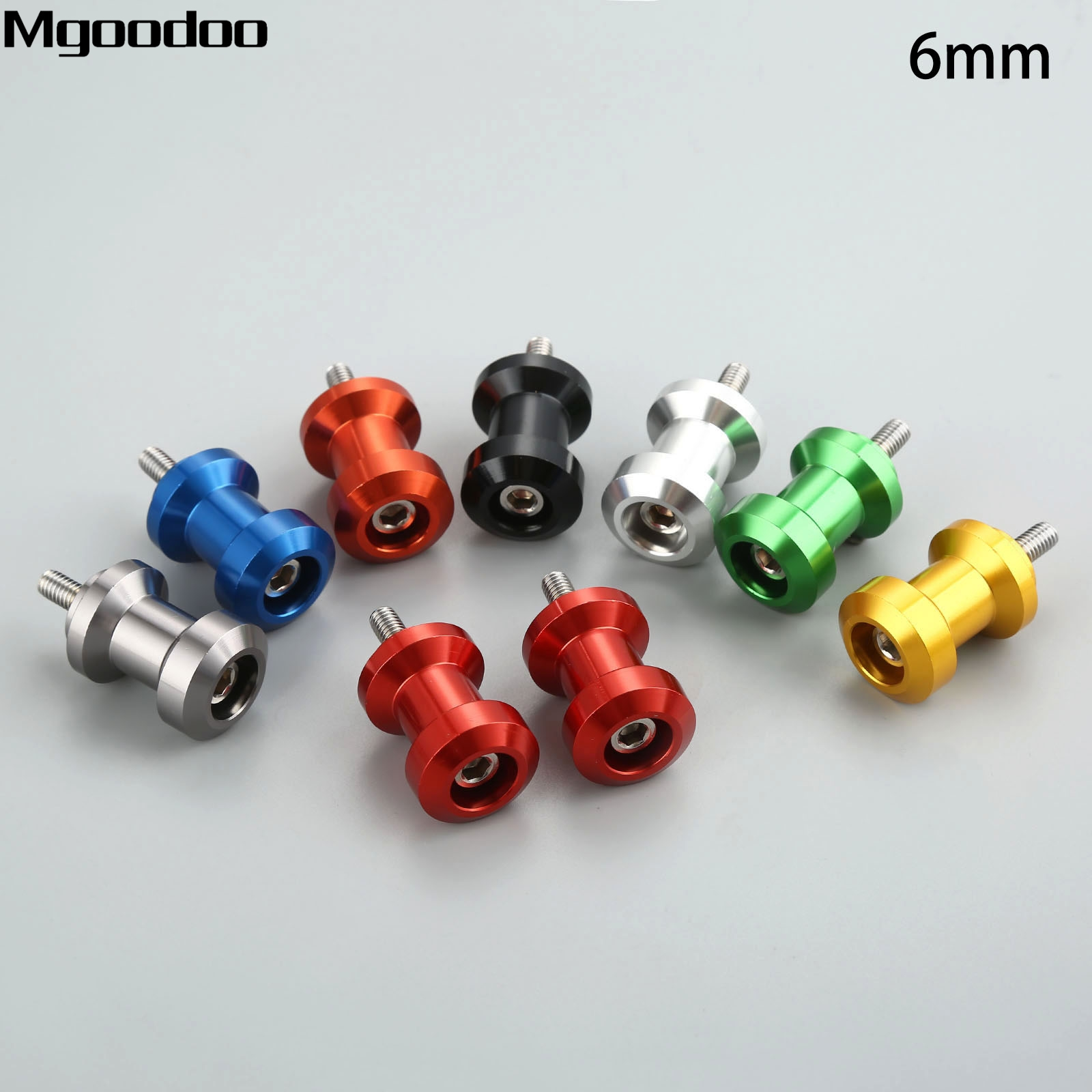Triumph Daytona 675//Aprilia Swingarm Spools Sliders 6mm