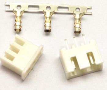 500 adet 3 Pin Konnektör İlanlar Heade 2.54mm XH 3P Kiti|Elektrikli Isıtıcı Parçalar|Ev Aletleri -
