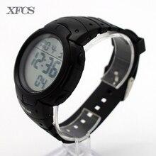 XFCS impermeable relojes digitales para los hombres digitais reloj running para hombre hombre saat reloj de alarma simple elegante al aire libre digitales