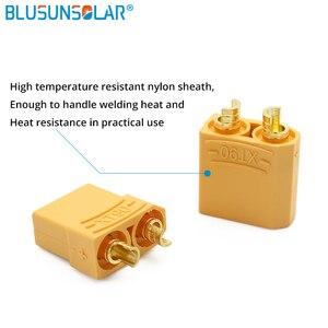 Jeu de connecteurs de piles XT90 | 10 paires/lot, prise banane plaquée or 4.5mm pour hommes et femmes, DZ0096