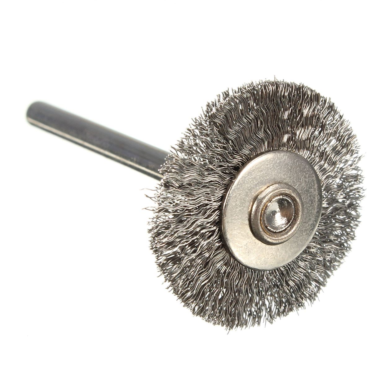 10x rotary mini tools steel wire wheel brushes cup rust cleaning - 22mm Stainless Steel Wire Wheels Brushes For Die Grinder Rotary Tools China Mainland