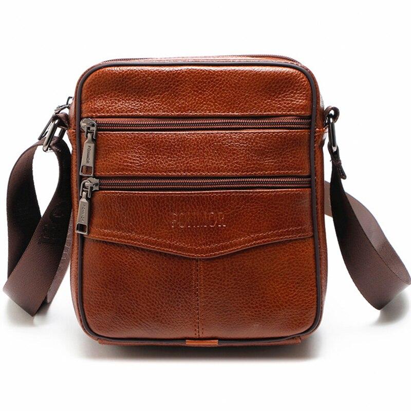 2018 Marke Männer Messenger Bags Kuh Echtes Leder Für Reisegeschäft Crossbody Taschen Fashion Umhängetasche Männer Bolsa Masculina