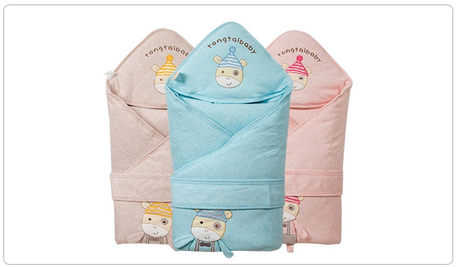 Baby Wrapped Blanket Warm Care (29)