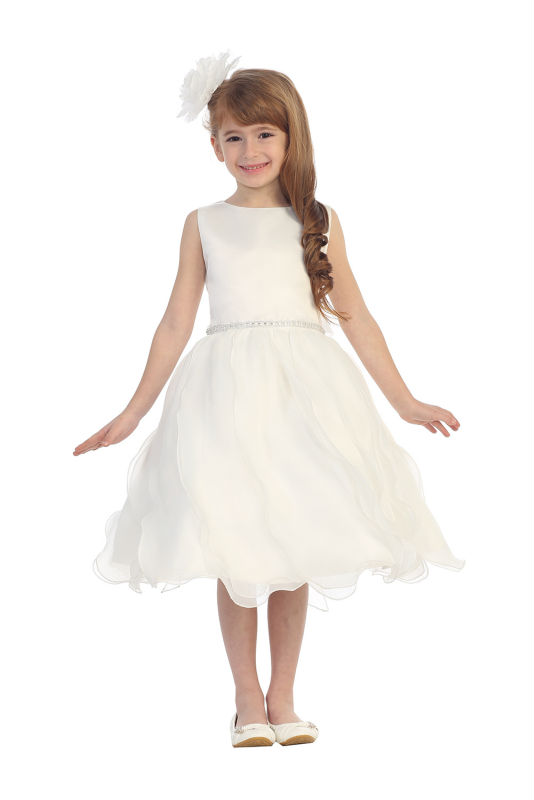 Free Shipping Flower Girls Dresses For Wedding Gowns A-line Girl Birthday Party Dress Baby Dress Tulle Mother Daughter Dresses new white ivory nice spaghetti straps sequined knee length a line flower girl dress beautiful square collar birthday party gowns