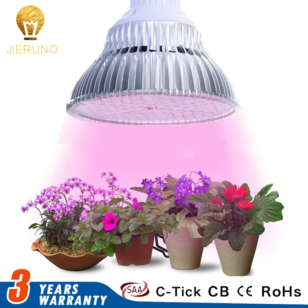 JIERNUO Grow Led Plant light LED Grow Light E27 6W 10W 18W 24W 48W 90W Plant Lamp Bulb for indoor flowering Hydroponic Plants 6w 8w 10w 12w 14w led aquarium light plants grow light aquatic plant lighting waterproof lamp for fish tank