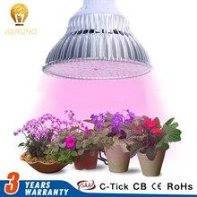 ФОТО full spectrum led grow light e27 6w/10w/18w24w/48w/90w led grow lamp bulb for flower plant hydroponics system ac85-265v freeship