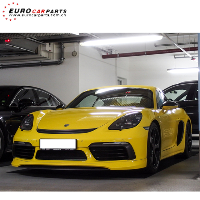 718 Cayman Body Kits Fit For Por Cayman 718 2016 2018 To Tech Style