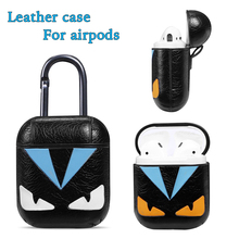 For Apple Airpods Case Luxury With Key Ring Dust Guard Earphone Accessories 2 Cute TWS i12 i10 i9s