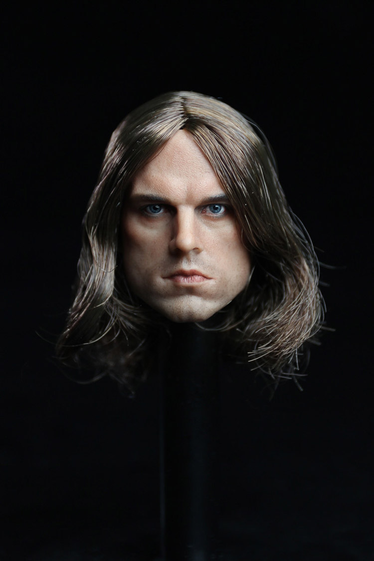 ФОТО 1/6 Scale The Winter Soldier Head Sculpt Captain America Male Head Carving for 12