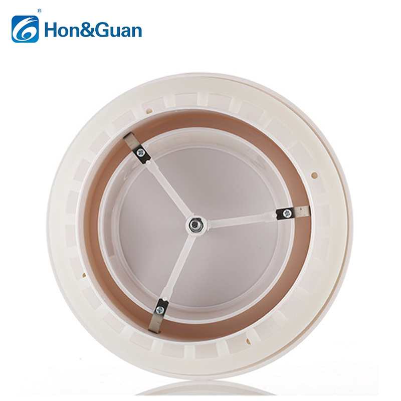 Honguan Round Ceiling Air Vent Duct Fan Grill Extractor Abs Ceiling
