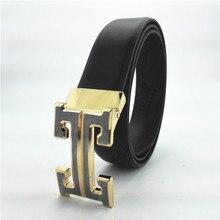 New Men's Leather  belt cummerbund Brands Belts For ladies steel buckle strap mens belts luxurious designer belts males prime quality