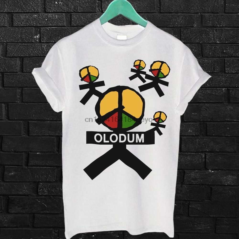 8ae21e71 Michael Jackson Olodum Vintage T Shirt White Tee shirt Olodum White Unisex  Tees