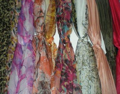 Lindo 100% de seda do Xaile do lenço Wraps Pescoço cachecóis cachecol mista tamanho 200*100 cm 10 pçs/lote #2149