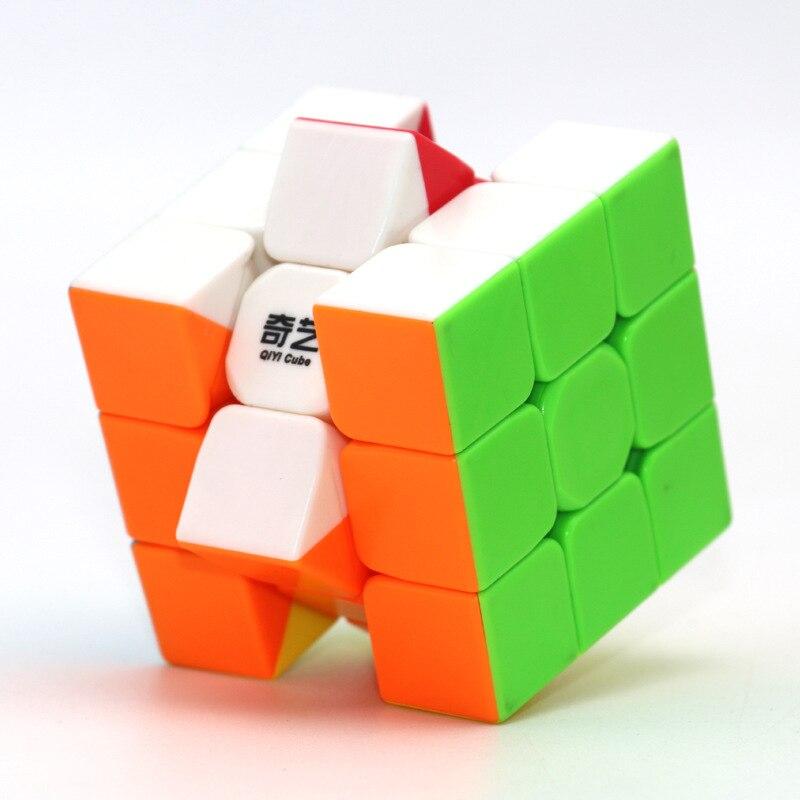 1 piezas de 3x3x3 ABS Etiqueta de bloque de magia de velocidad cubos rompecabezas juguete de los niños chico juguete de regalo de la Juventud profesional adulto Rubiks cubo