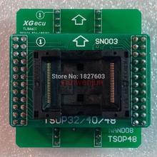 ANDK TSOP48 NAND adaptador solo para TL866II PLUS programador para chips flash NAND