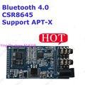 Bluetooth 4.0 CSR8645 receber apoio solução do módulo bluetooth APT-X Módulo Sem Fio de Música Estéreo AUX