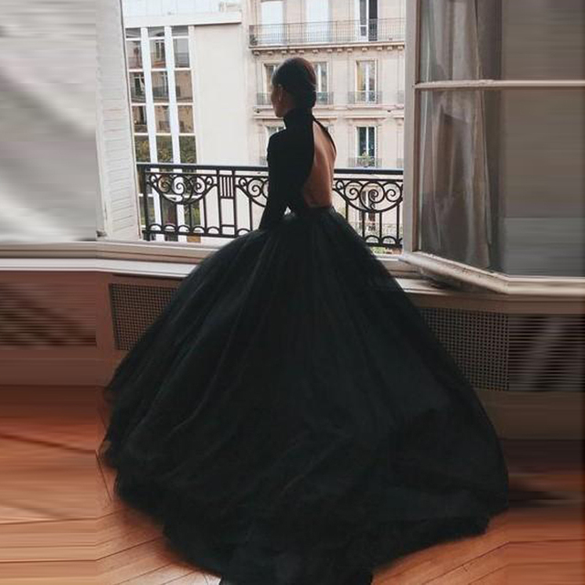 Faldas Mujer Moda 2019 Puffy Black Bridal Tulle Skirts Zipper Custom Made Very Lush Long Women Tulle Skirt Ball Gowns Tutu