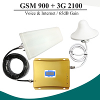 LCD 3G Repeater GSM Dual Band Repeater Cell Phone Signal Booster GSM WCDMA Amplifier GSM Repeater