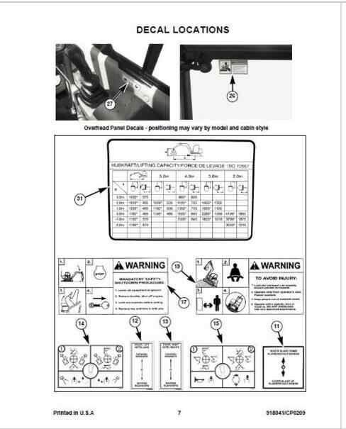 2015 gehl 5640 service manual