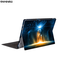 YNMIWEI Full Body Protector For Surface Pro5 Colorfull Print Screen Protect Films For 2017 Microsoft Windows