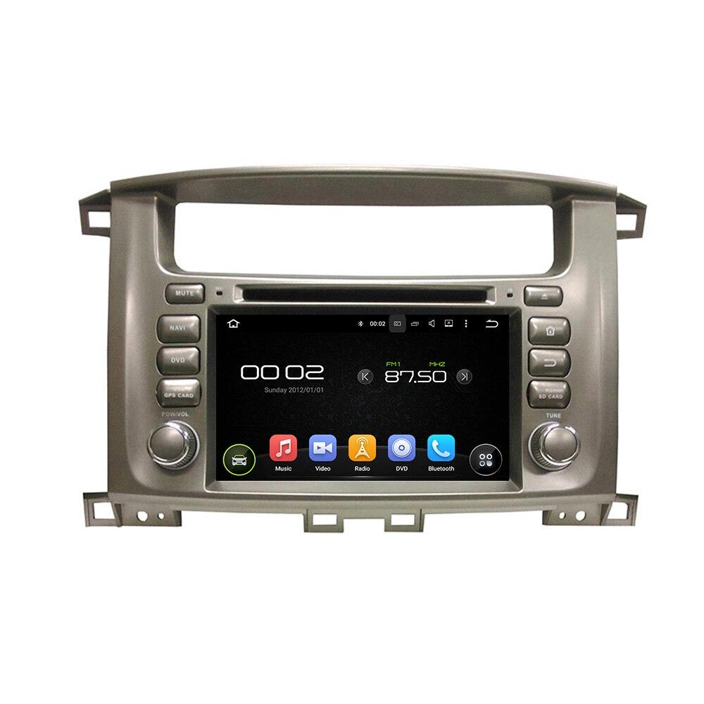 OTOJETA Android 8.0 lettore DVD dell'automobile octa Core 4 GB di RAM 32 GB rom per toyota Land Cruiser 100 LC100 registratore stereo testa unità