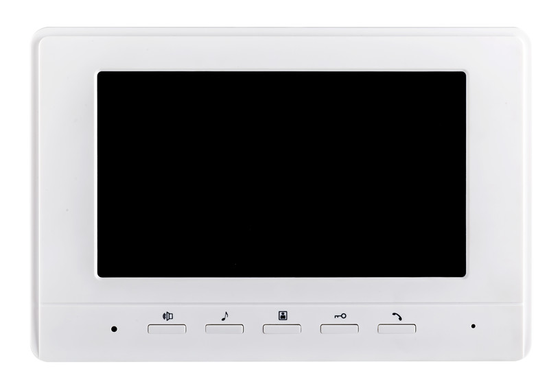 7 inch Screen For Wired Intercom Video Door Phone XLS-V70H White Color