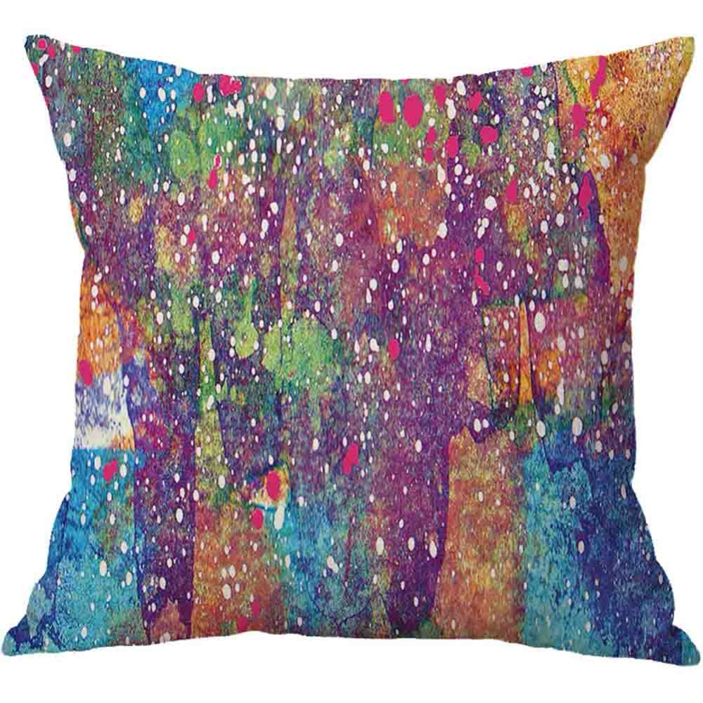 Nordic Cushion Cover Fancy Watercolours Polyester Pillowcase Sofa Bed Home Decorative Throw Pillow Cover Funda Housse Cushion