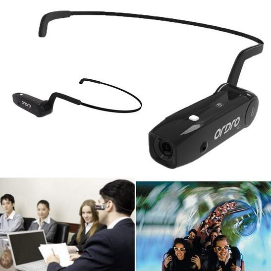 Original ORDRO Bone Conduction Bluetooth  Hand Free Head Band Action Mini