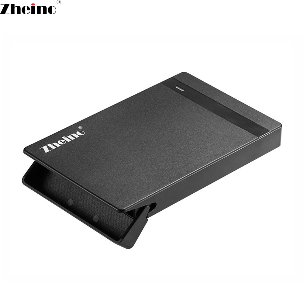 Zheino 2.5 Inch USB 3.0 to sata3 Mobile HDD box Fit For 2.5 Inch sata hdd/ssd Hard Drive External Enclosure Case Tool-free ugreen hdd enclosure sata to usb 3 0 hdd case tool free for 7 9 5mm 2 5 inch sata ssd up to 6tb hard disk box external hdd case