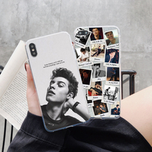 Canadian Pop singer Shawn Mendes Soft TPU silicone Phone Case Cover For iPhone XS 5s SE 6 6s Plus 7 7Plus 8 8Plus X 10 MAX XR