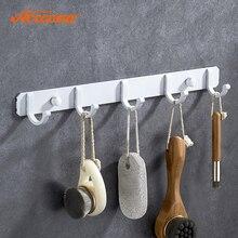 Accoona домашний халат крючки кухонный настенный держатель двери крючок вешалка Белая аэрозольная краска крючок для одежды для ванной комнаты до A11691G