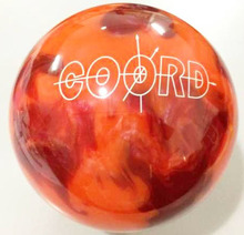 hot sale orange branded women professional bowling ball