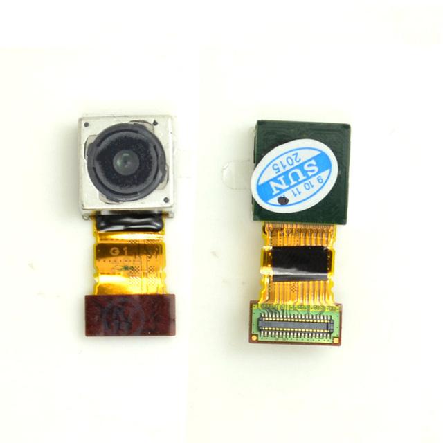 Melhor qualidade voltar câmera traseira cabo flex para sony xperia z3 l55t l55w l55u d6653 d6633 20.7 m pixel câmera