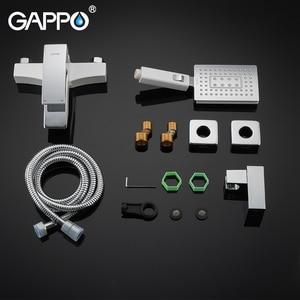Image 5 - GAPPO Bathtub Faucets bathroom white bath shower mixer bathtub waterfall faucet shower head set basin mixer saving water taps