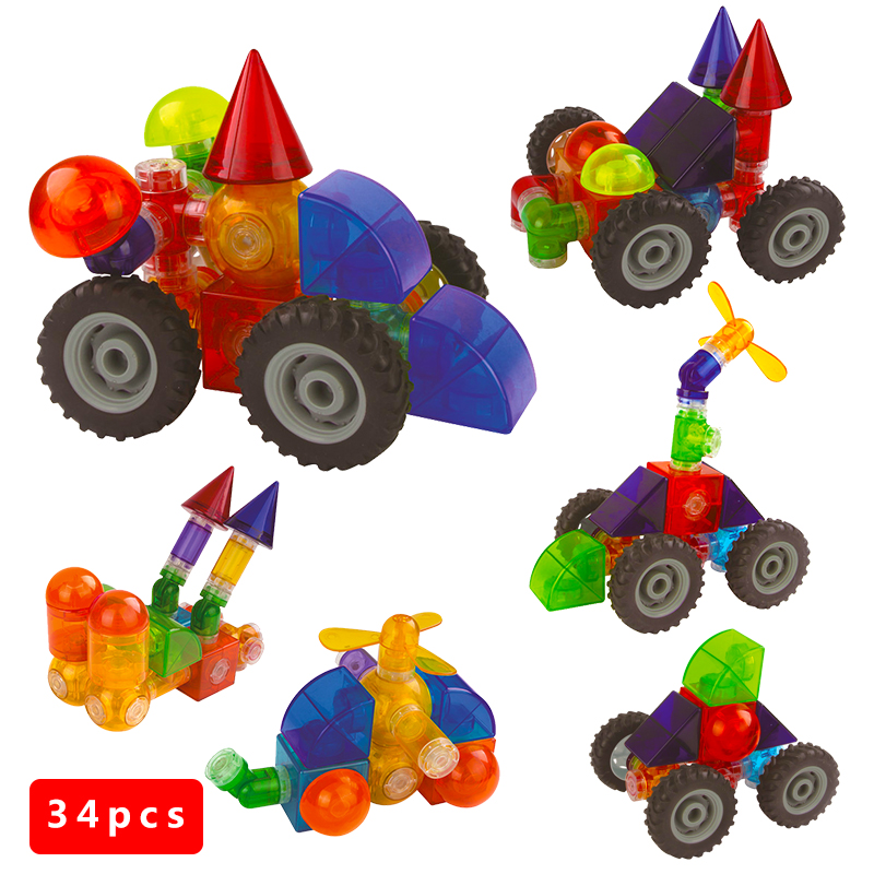 Baby Toys 2016 Big Pipe Building Bricks Toy Brand New 3D Magnetic Building Learning Educational Toys Magnet Block Kids Gift 034 32pcs magnet toy 2016 new magnetic pipe building block children diy educational construction enlighten baby toys creative bricks