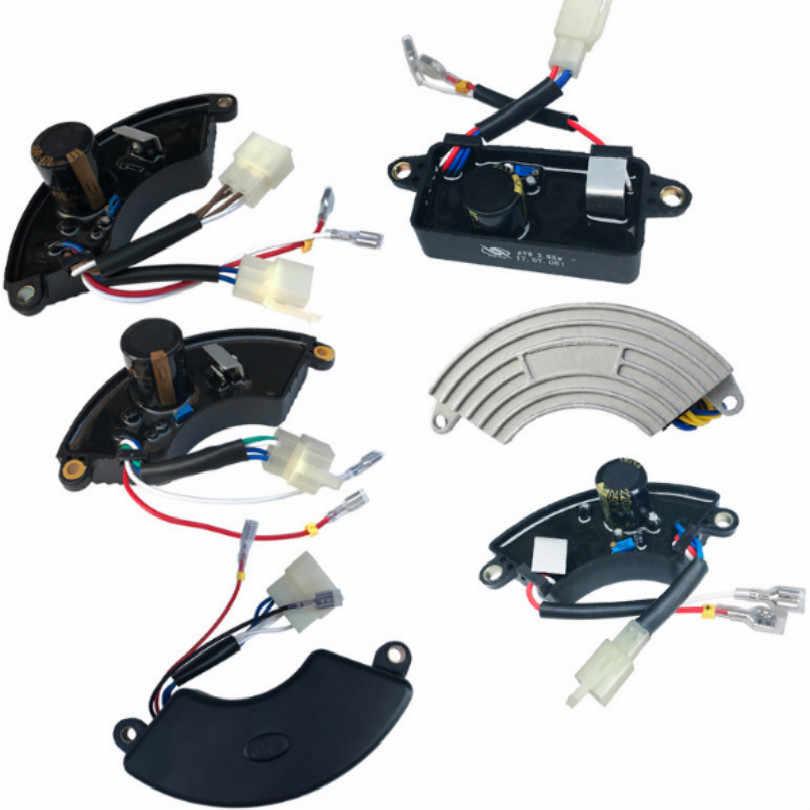 Livraison gratuite 1KW 2kw 3kw 5kw 6.5kw 8kw générateur d'essence moteur à essence avr monophasé triphasé régulateur de tension