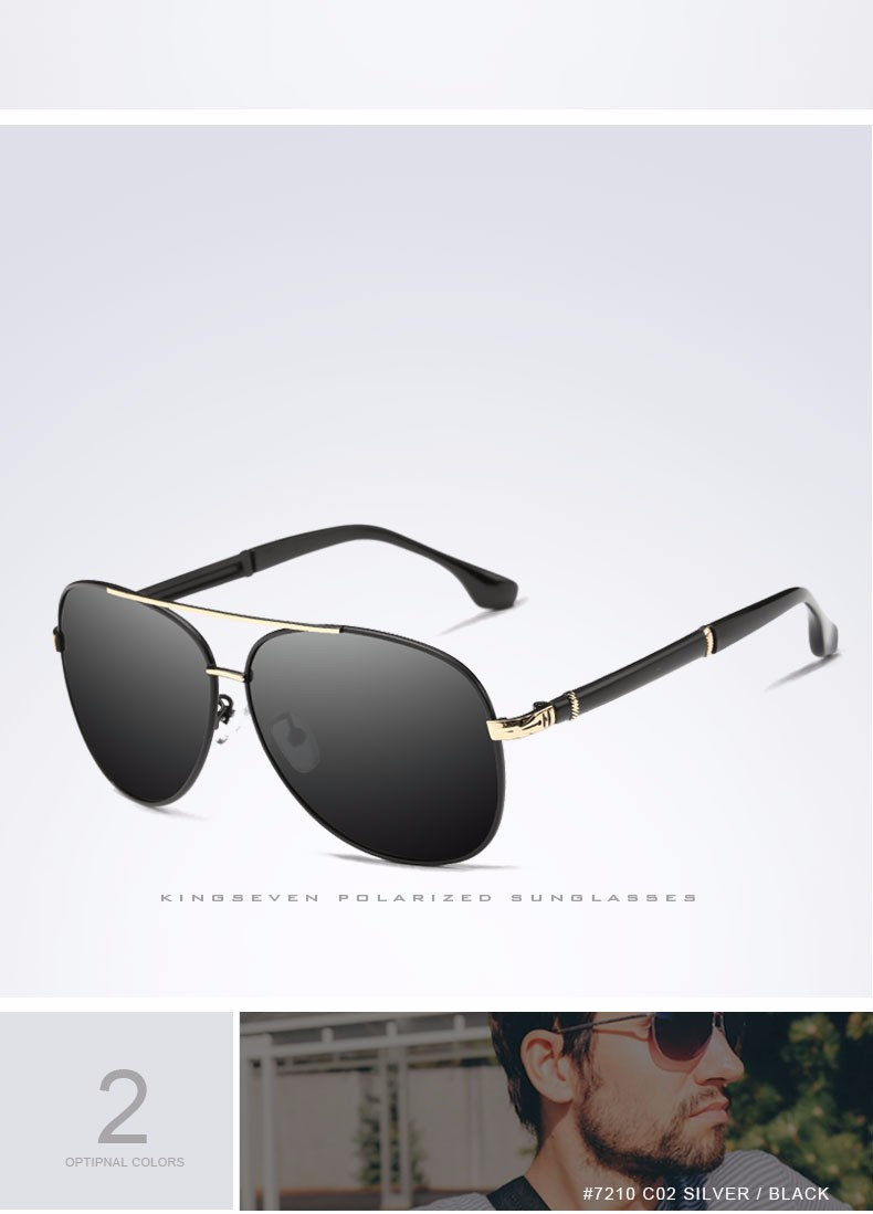 2017 Retro Quality Brand Original Sunglasses Men Polarized Lens Vintage Eyewear Accessories Gold Sun Glasses Oculos For Men 5